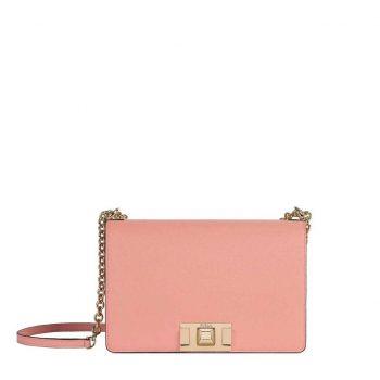 Túi đeo chéo Furla MiMi size 24 cm màu hồng