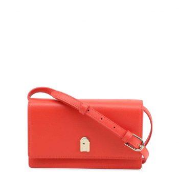 Túi đeo chéo Furla 1927 Incanto Size 19cm da thật màu đỏ cam