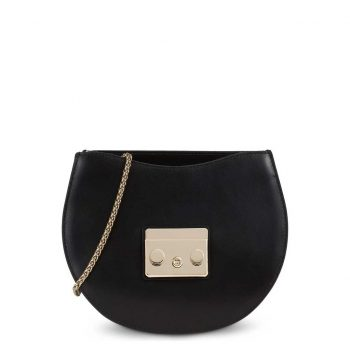 Túi đeo chéo Furla Metropolis Mini Size 20cm da thật màu đen