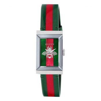 Đồng hồ Gucci nữ mặt chữ nhật G-Frame YA147408