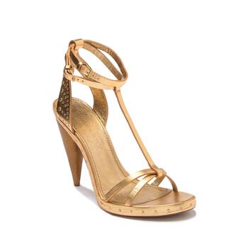 Giày Burberry Hans Runway Sandal in Gold chính hãng