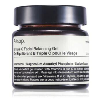 Mỹ phẩm chăm sóc da Aesop B Triple C Facial Balancing Gel 60ml/2.21oz chính hãng từ Mỹ US UK sale giá rẻ ở tại Hà nội TPHCM