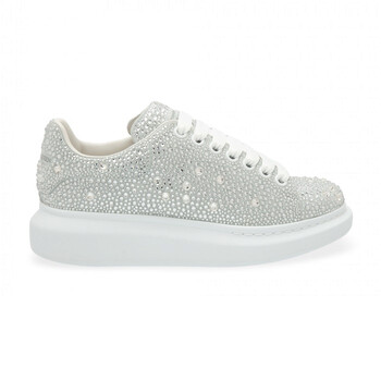 Giày Alexander Mcqueen nữ Oversized Crystal Embellished Sneakers chính hãng