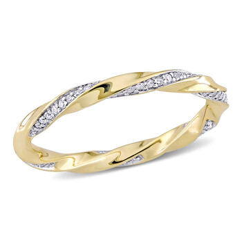 Trang sức Amour Vàng 10K 1/4 CT TDW Kim cương Eternity Nhẫn chính hãng sale giá rẻ Hà nội TPHCM