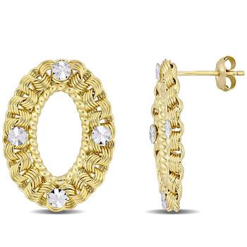 Trang sức Amour Vàng 10K Stud Bông tai (khuyên tai, hoa tai) chính hãng sale giảm giá sỉ rẻ nhất ở Hà nội TPHCM