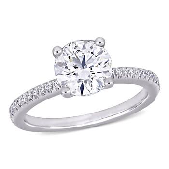 Trang sức Amour Vàng trắng 14K 2 1/6 CT TW Certified Kim cương Nhẫn đính hôn chính hãng sale giá rẻ Hà nội TPHCM