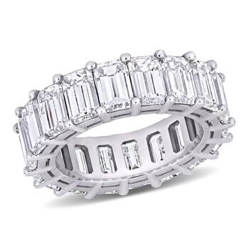 Trang sức Amour Vàng trắng 18K 10 3/4 CT TDW Kim cương Eternity Nhẫn chính hãng sale giá rẻ Hà nội TPHCM