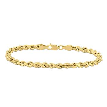Trang sức Amour Thời trang Rope Chain Vòng đeo tay Vàng 14K JMS005092 chính hãng sale giá rẻ Hà nội TPHCM
