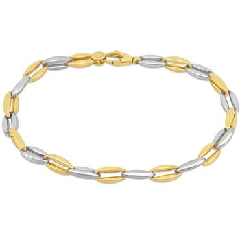 Trang sức Amour Oval Link Vòng đeo tay 18k 2-tone Gold Length (inches): 8 chính hãng sale giá rẻ Hà nội TPHCM