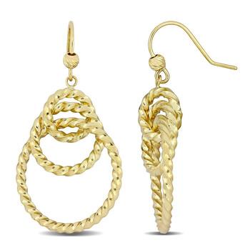 Trang sức Amour Vàng 10K Drop Bông tai (khuyên tai