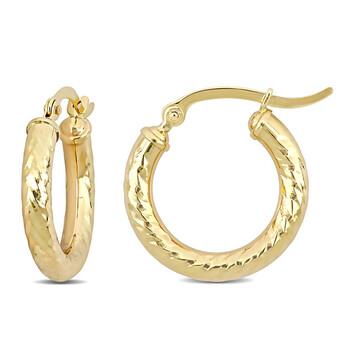 trang sức Amour Vàng 10K Hoop Bông tai (khuyên tai, hoa tai) chính hãng sale giá rẻ tại Hà nội TPHCM