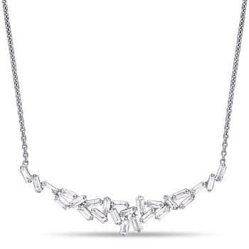 Trang sức Amour Vàng trắng 14K 3/4 CT TDW Kim cương Dây chuyền (vòng cổ) chính hãng sale giá rẻ Hà nội TPHCM