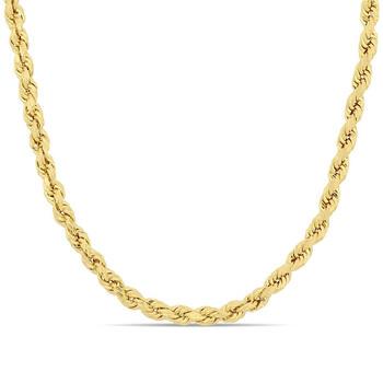 Trang sức Amour Thời trang 24 Inch Rope Chain Nam Dây chuyền (vòng cổ) Vàng 10K JMS005080 chính hãng sale giá rẻ Hà nội TPHCM