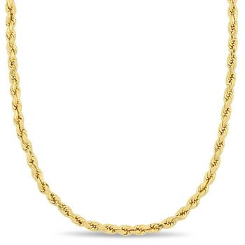 Trang sức Amour Thời trang 20 Inch Rope Chain Dây chuyền (vòng cổ) Vàng 14K chính hãng sale giá rẻ Hà nội TPHCM