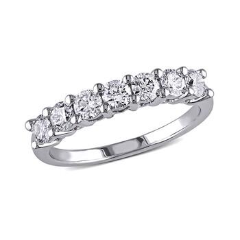 trang sức Amour 1 CT Kim cương TW Nhẫn thời trang Vàng trắng 14K GH SI chính hãng sale giá rẻ tại Hà nội TPHCM