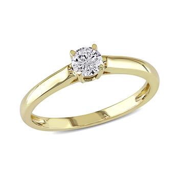 Trang sức Amour 1/4 CT Kim cương TW Nhẫn thời trang Vàng 14K GH I1;I2 chính hãng sale giá rẻ Hà nội TPHCM