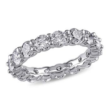 Trang sức Amour 5 CT Kim cương TW Eternity Nhẫn Vàng trắng 18K GH I1;I2 chính hãng sale giảm giá sỉ rẻ nhất ở Hà nội TPHCM