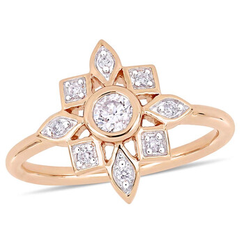 Trang sức Amour 1/3 CT Kim cương TW Nhẫn thời trang Vàng hồng 10K JMS005309 chính hãng sale giá rẻ Hà nội TPHCM