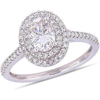 Trang sức Amour 1/3 CT Kim cương TW và 1 CT TGW Created Moissanite-White Nhẫn thời trang Vàng trắng 14K JMS005315 chính hãng sale giá rẻ Hà nội TPHCM