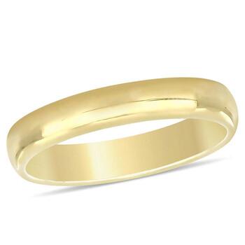 Trang sức Amour Nữ Vàng 10K Wedding Band 4mm JMS005379 chính hãng sale giá rẻ Hà nội TPHCM