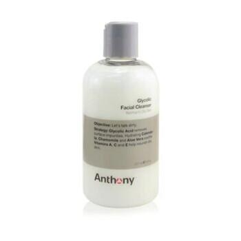 Mỹ phẩm chăm sóc da Anthony Logistics cho nam Glycolic Facial Cleanser cho da thường và da nhờn 237ml/8oz chính hãng từ Mỹ US UK sale giá rẻ ở tại Hà nội TPHCM