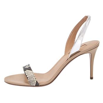 Giày Aquazzura So Nude 85 Sandals chính hãng