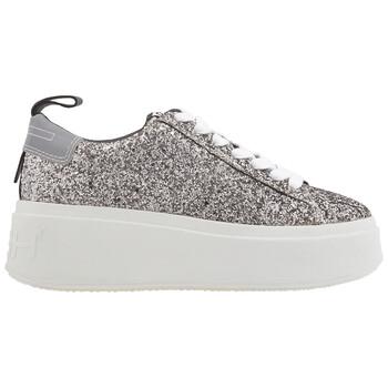 Giày Ash nữ Moon Bis Glitter Sneakers màu đen / Silver chính hãng