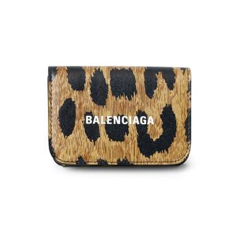 Balenciaga Beige Nữ Ví With Logo Chính hãng từ Mỹ