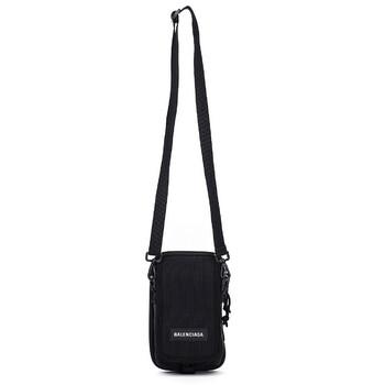 Balenciaga màu đen Explorer Travel đeo chéo Pouch Bag Chính hãng từ Mỹ