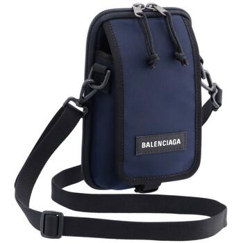 Balenciaga màu xanh dương Explorer Travel đeo chéo Pouch Bag Chính hãng từ Mỹ
