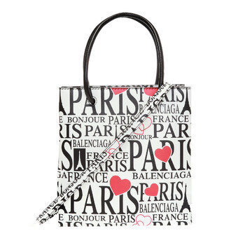 Balenciaga Bonjour Paris Shopping Túi Tote Chính hãng từ Mỹ
