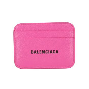 Balenciaga Cash màu hồng Logo Card Holder Chính hãng từ Mỹ