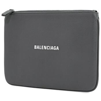 Balenciaga Grey Everyday Clutch Bag Chính hãng từ Mỹ