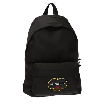 Balenciaga Explorer Logo Print Nylon Ba lô màu đen Chính hãng từ Mỹ
