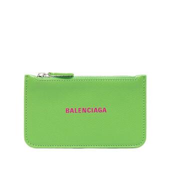 Balenciaga Grained Da bê Cash Long Coin And Card Holder Chính hãng từ Mỹ
