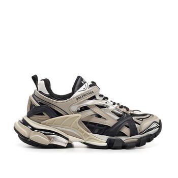 Giày Balenciaga nữ Neoprene And Rubber Track.2 Sneakers chính hãng