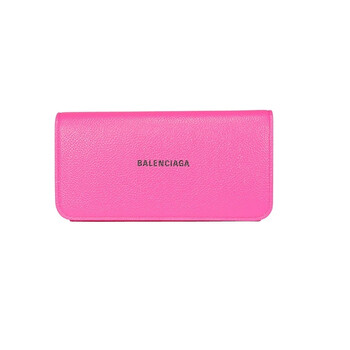 Balenciaga Da Logo Ví màu hồng Chính hãng từ Mỹ