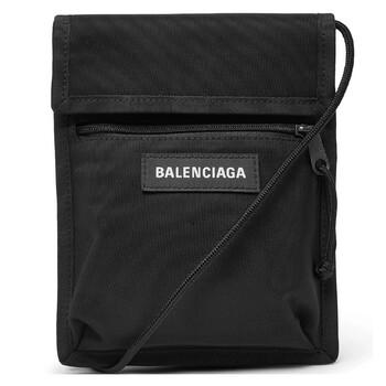 Balenciaga Nam Explorer Pouch Strap màu đen Nylon Chính hãng từ Mỹ