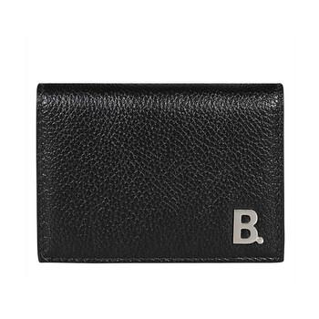 Balenciaga Mini B Da Tri - fold Ví - màu đen Chính hãng từ Mỹ