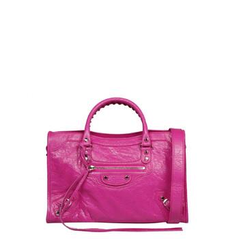 Balenciaga Classic Nano City Bright màu hồng Arena Lambskin Chính hãng từ Mỹ