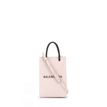 Balenciaga màu hồng Nữ Túi size mini Phone Holder Chính hãng từ Mỹ