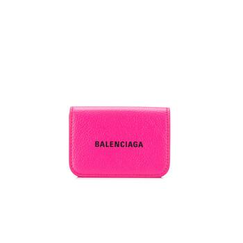 Balenciaga màu hồng Nữ Printed Logo Ví Chính hãng từ Mỹ