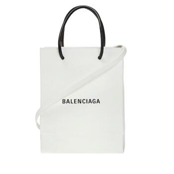 Balenciaga màu trắng Mini Shopping Tote Chính hãng từ Mỹ