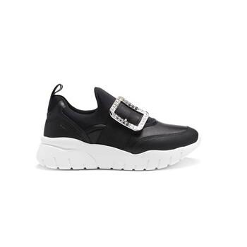 Giày Bally nữ Brinelle Crystal Buckle Sneakers chính hãng sale giá rẻ