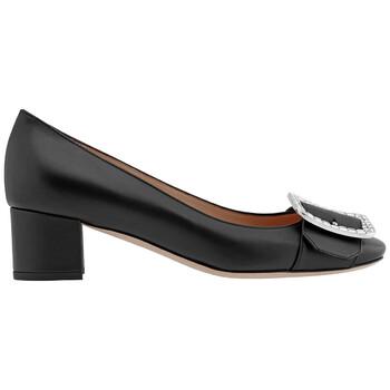 Giày Bally nữ Jackie màu đen Leather Pumps chính hãng