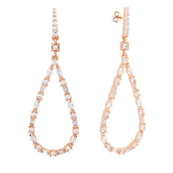 Trang sức Bertha Juliet Collection Nữ 18k RG mạ Thời trang Earring chính hãng sale giá rẻ Hà nội TPHCM