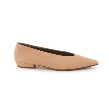 Giày Bottega Veneta Almond Shaped Toe Nappa Flats chính hãng