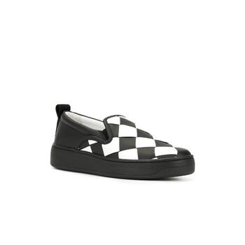 Giày Bottega Veneta Bicolor Intrecciato nữ màu đen Sneakers chính hãng