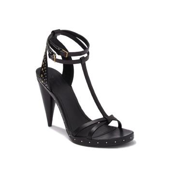 Giày Burberry màu đen Hans Runway Sandal chính hãng