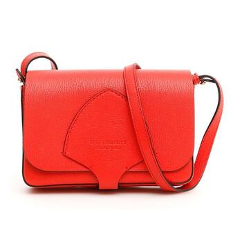Burberry Bright màu đỏ Equestrian Shield Túi đeo chéo Chính hãng từ Mỹ